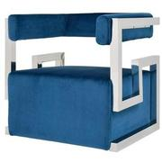 Versana Blue Accent Chair  alternate image, 2 of 5 images.
