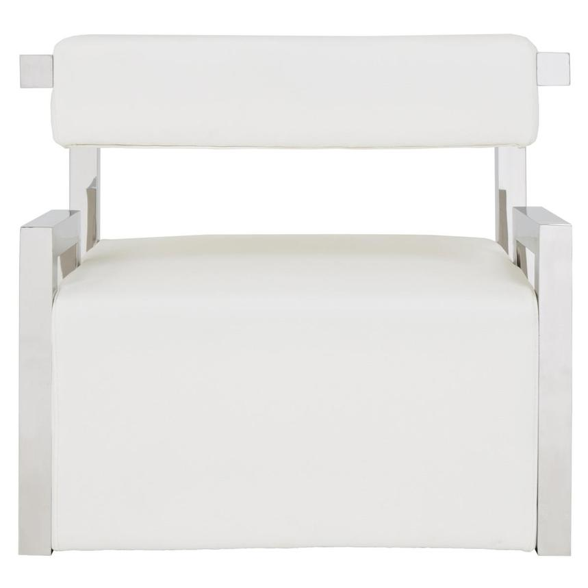 Versana White Accent Chair  alternate image, 5 of 6 images.