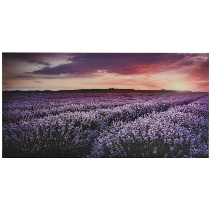 Lavender Acrylic Wall Art  main image, 1 of 3 images.