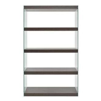 Alicante Gray Bookshelf