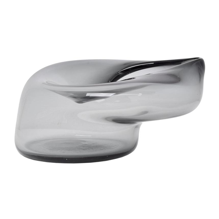 Grigio Glass Bowl