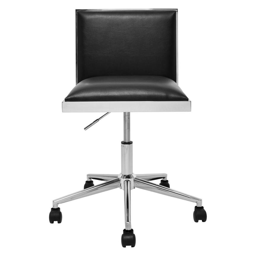 Emario Black Desk Chair  main image, 1 of 7 images.