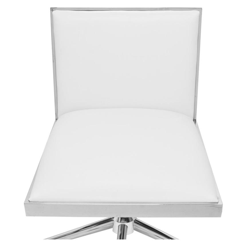 Emario White Desk Chair  alternate image, 6 of 7 images.