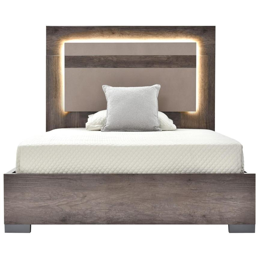 Matera Full Platform Bed Made in Italy  main image, 1 of 6 images.