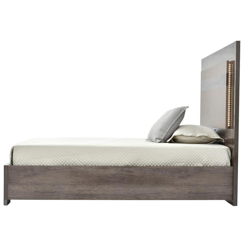 Matera Full Platform Bed Made in Italy  alternate image, 5 of 7 images.
