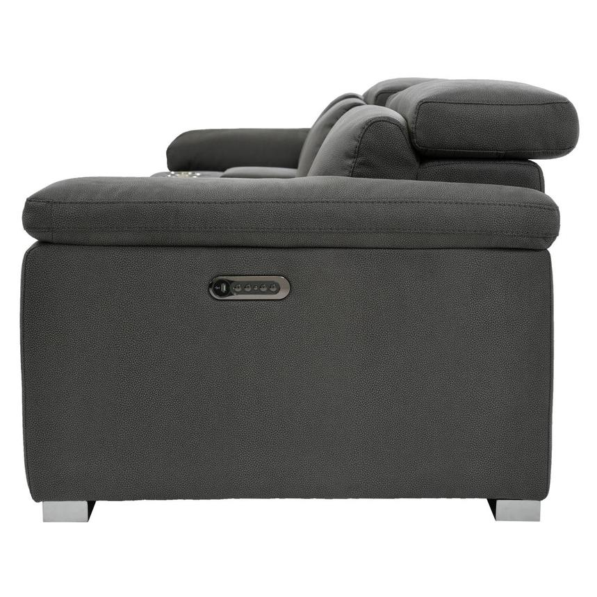 Karly Dark Gray Home Theater Seating  alternate image, 4 of 10 images.