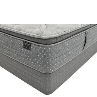 Caprice King Mattress w/Regular Foundation by Carlo Perazzi