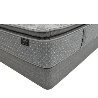 Genoa King Mattress w/Regular Foundation by Carlo Perazzi