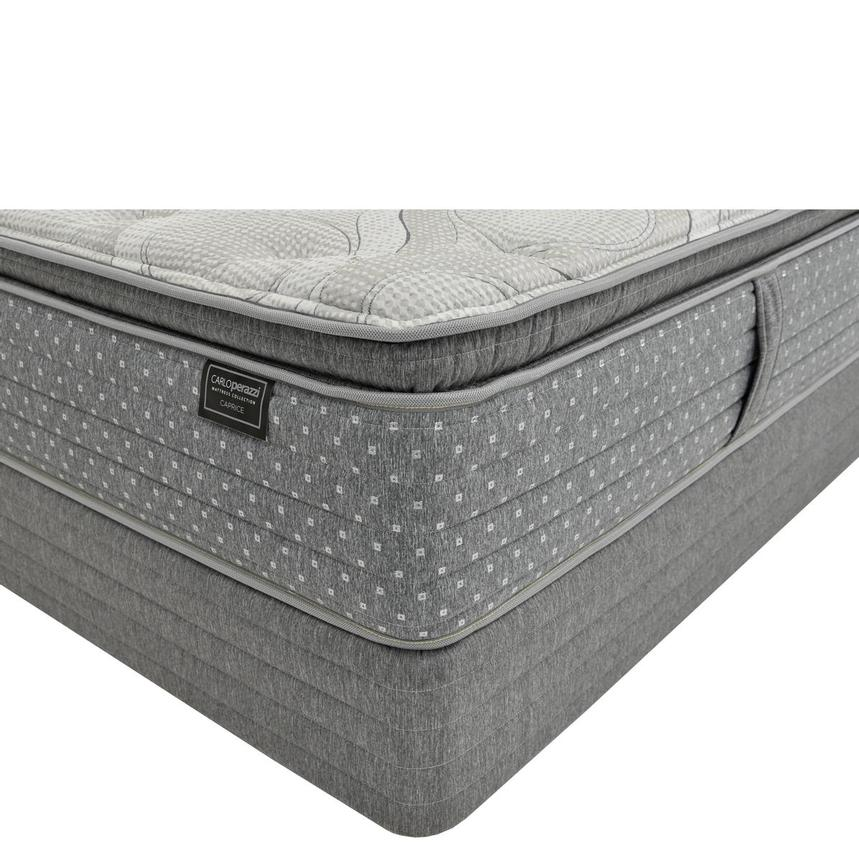 Caprice Full Mattress w/Low Foundation by Carlo Perazzi  main image, 1 of 4 images.