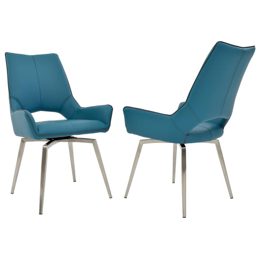 Kalia Blue Side Chair  alternate image, 5 of 7 images.