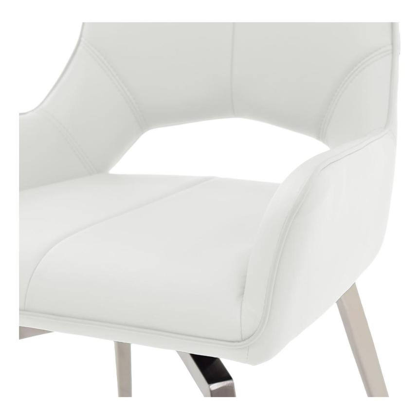 Kalia White Side Chair  alternate image, 5 of 6 images.