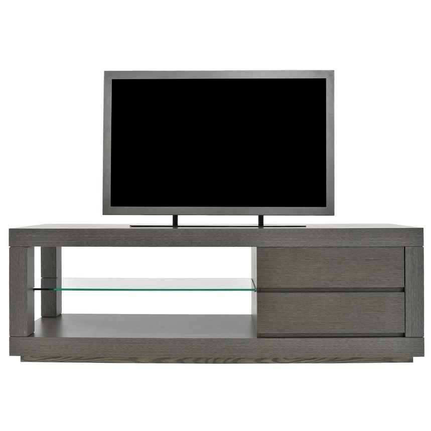 Max Gray TV Stand  main image, 1 of 7 images.
