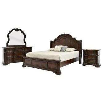 Alexandria 4-Piece Queen Bedroom Set