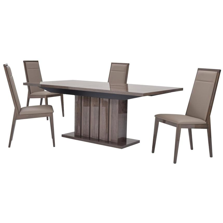 Matera 5-Piece Formal Dining Set Made in Italy  main image, 1 of 18 images.