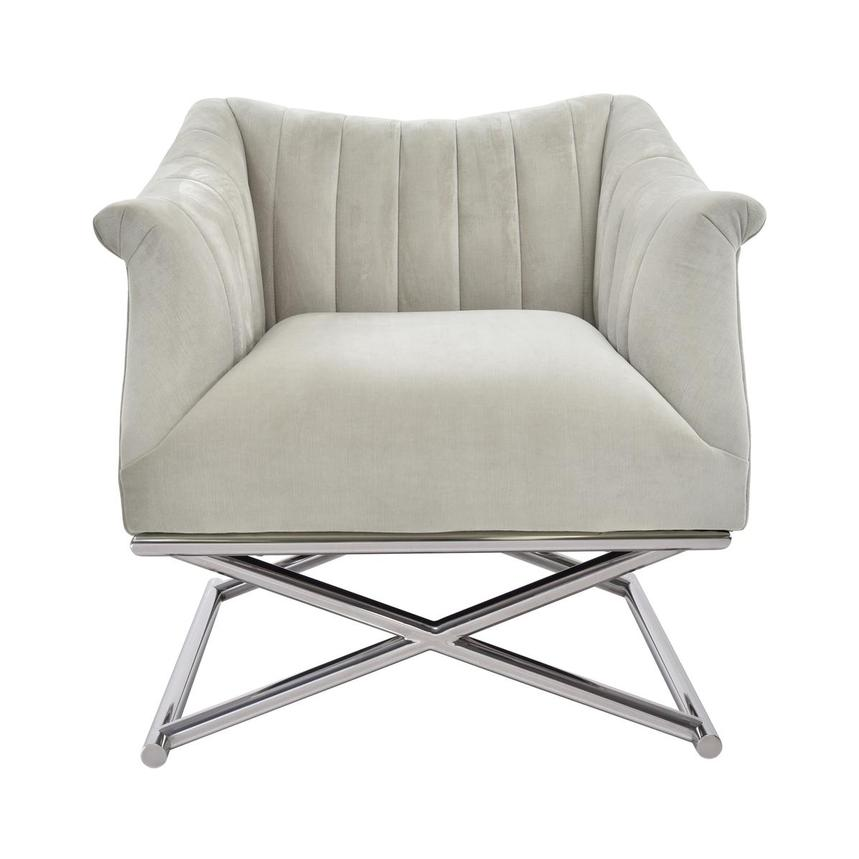 Birala Beige Accent Chair  main image, 1 of 5 images.