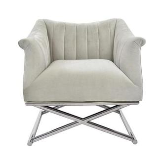 Birala Beige Accent Chair