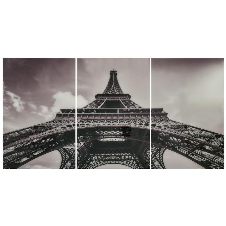 Eiffel Tower II Set of 3 Acrylic Wall Art  main image, 1 of 4 images.