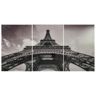 Eiffel Tower II Set of 3 Acrylic Wall Art