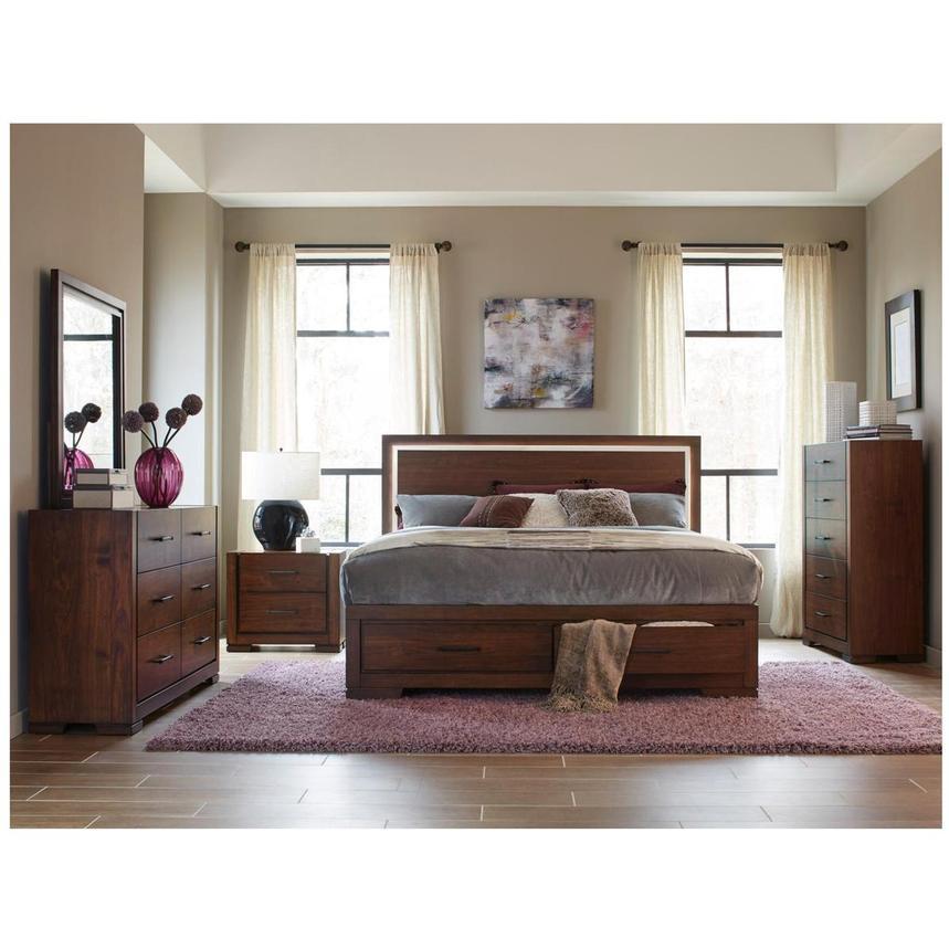 Allison 4 Piece King Bedroom Set