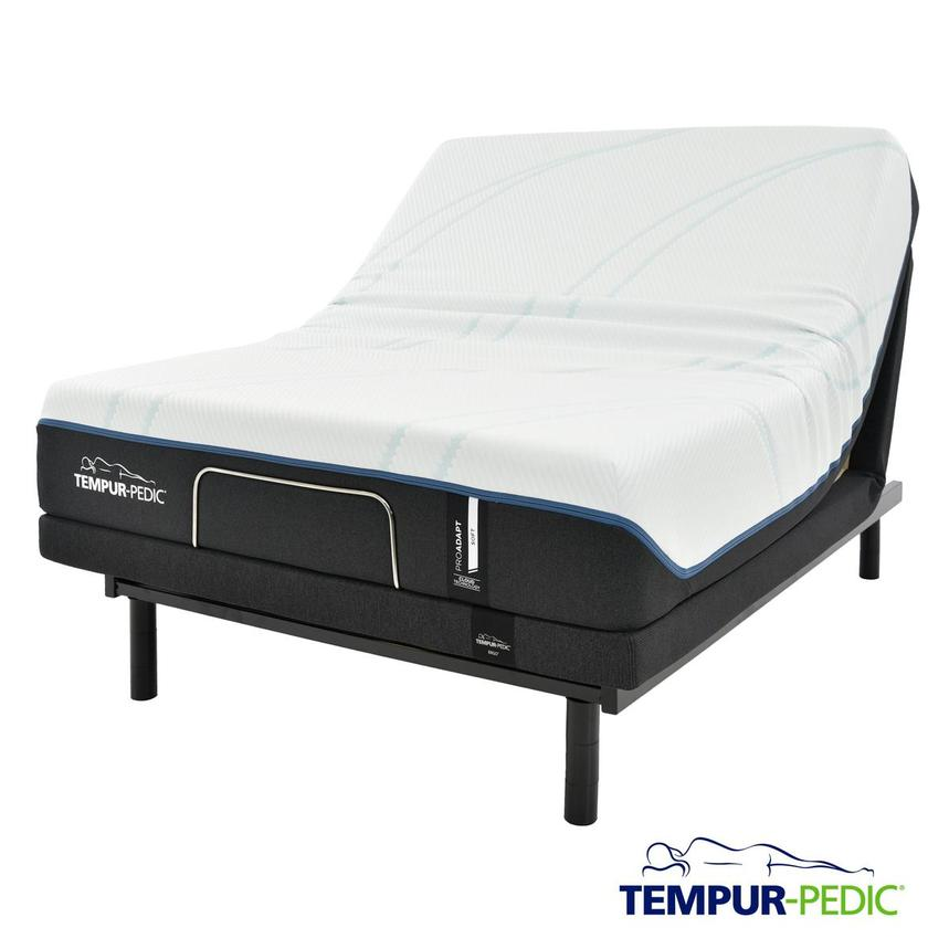 ProAdapt Soft Full Memory Foam Mattress w/Ergo® Powered Base by Tempur-Pedic  main image, 1 of 7 images.