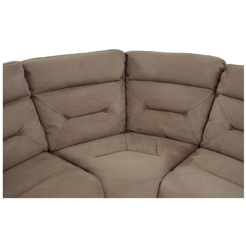 Kim Brown Power Motion Sofa w/Right & Left Recliners  alternate image, 6 of 7 images.