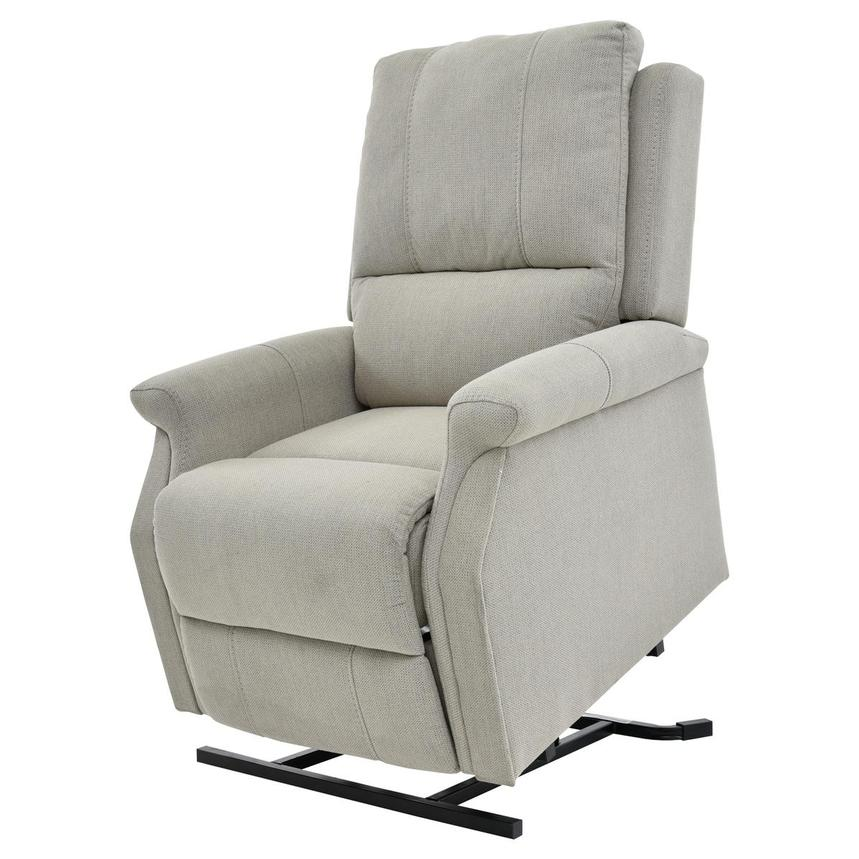 Bailey Cream Power-Lift Recliner  main image, 1 of 10 images.