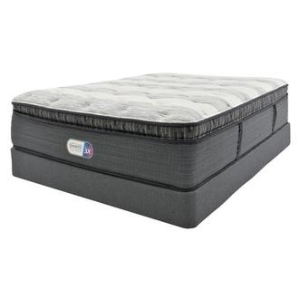Clover Spring PT Queen Mattress w/Regular Foundation by Simmons Beautyrest Platinum