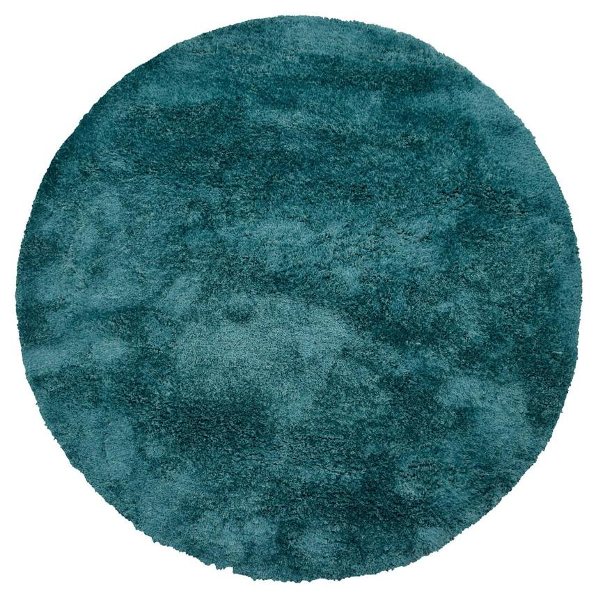 Cosmo Blue 8' Round Area Rug  main image, 1 of 3 images.