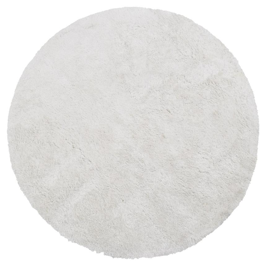 Cosmo White 8' Round Area Rug  main image, 1 of 3 images.