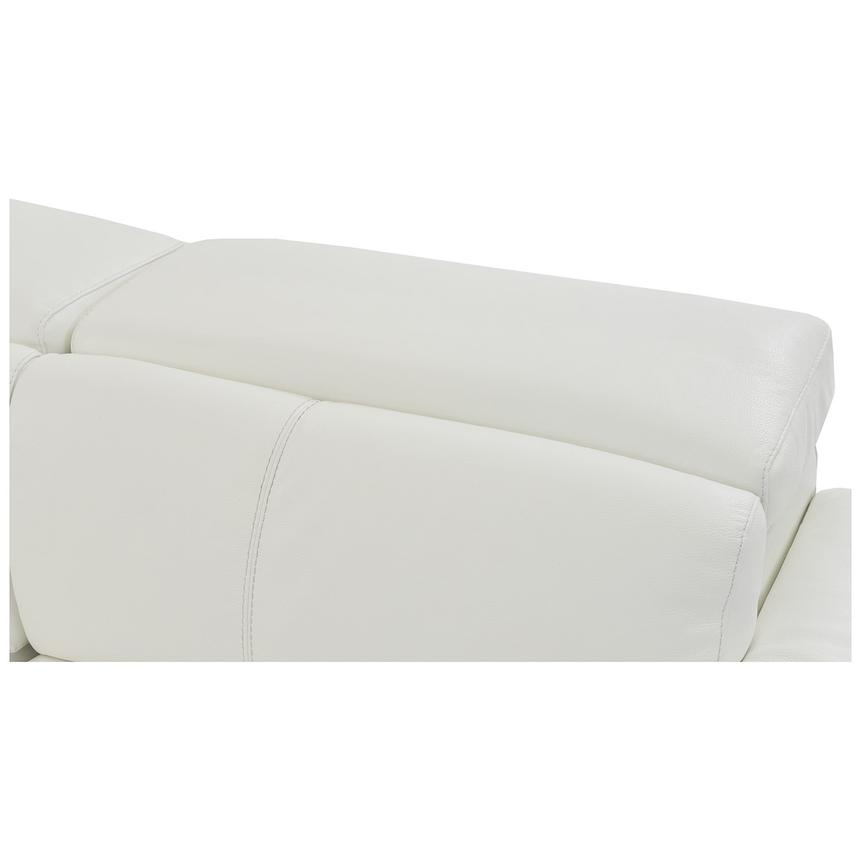 Charlie White Power Motion Leather Sofa w/Right & Left Recliners  alternate image, 6 of 8 images.