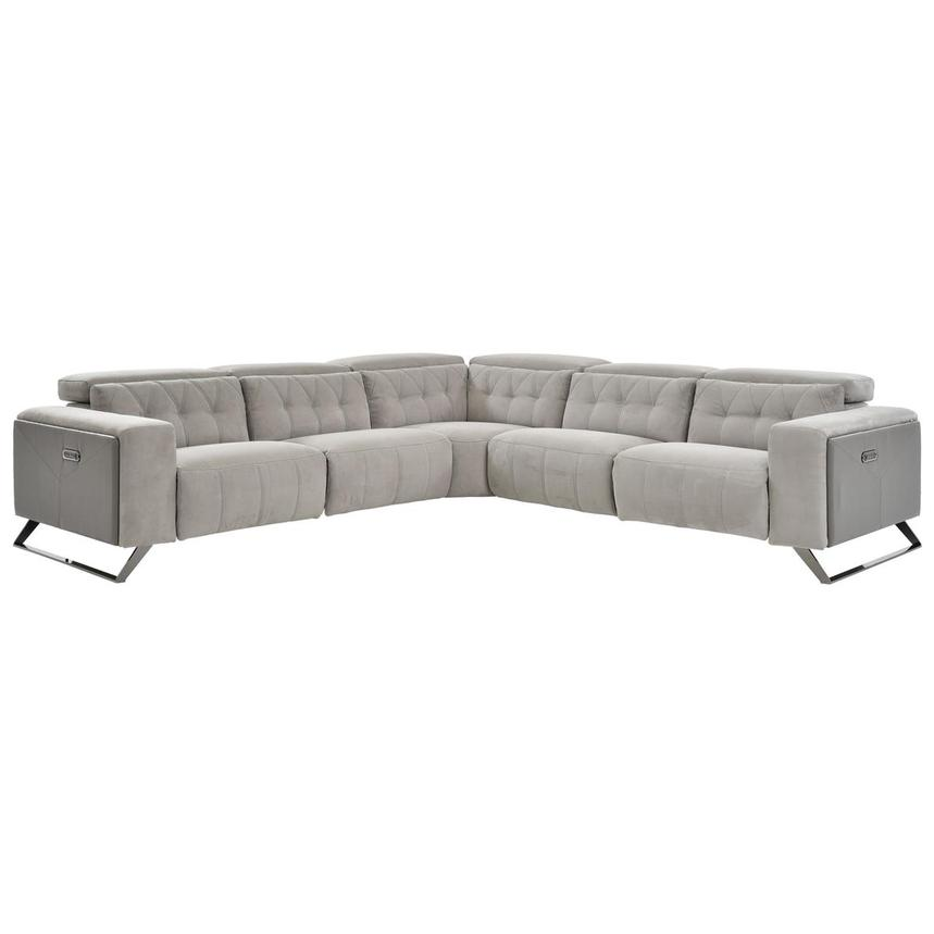 Elise Power Motion Sofa w/Right & Left Recliners  main image, 1 of 6 images.