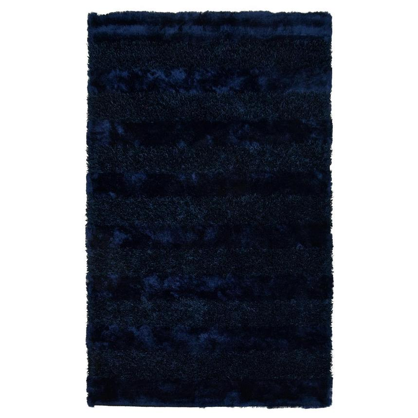 Fusion Navy 5' x 8' Area Rug  main image, 1 of 3 images.