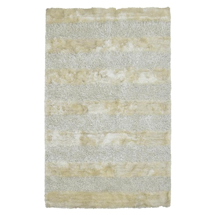 Fusion White 5' x 8' Area Rug  main image, 1 of 3 images.