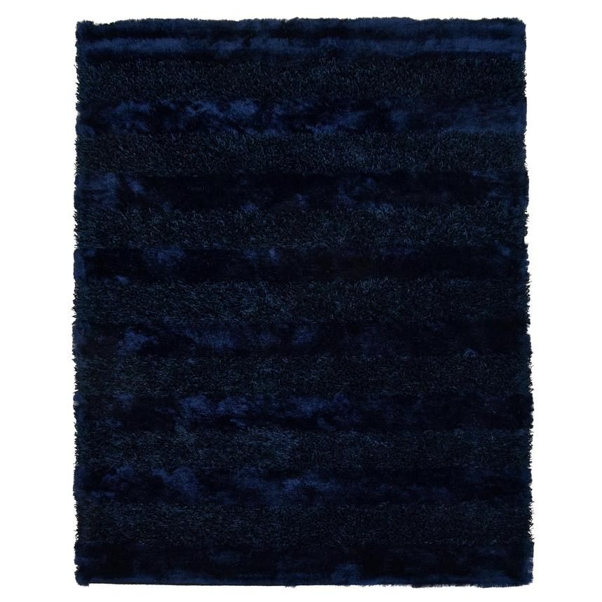 Fusion Navy 6' x 9' Area Rug  main image, 1 of 3 images.