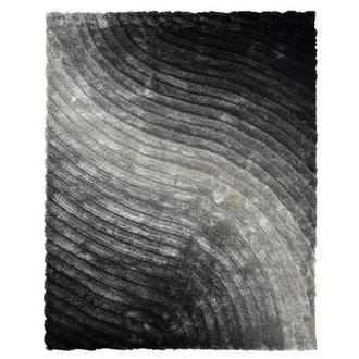 Retro Black 8' x 10' Area Rug