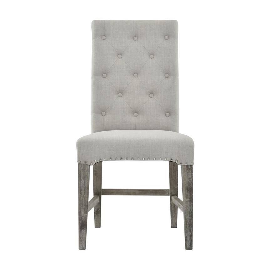Beltran Gray Side Chair  main image, 1 of 7 images.