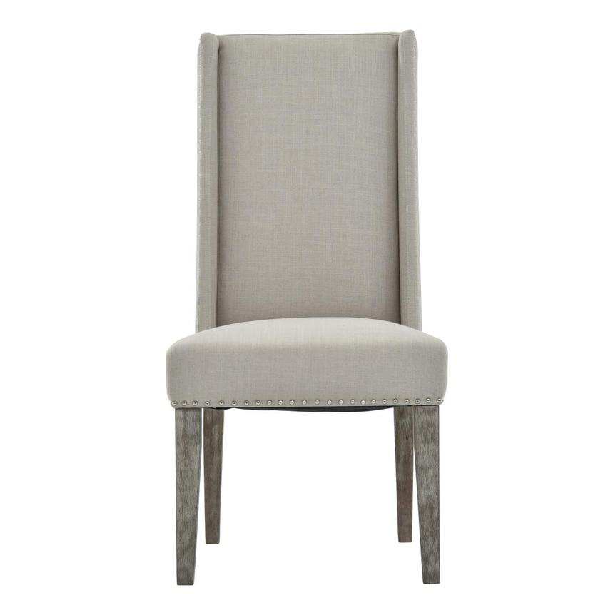 Hudson Gray Side Chair  main image, 1 of 7 images.