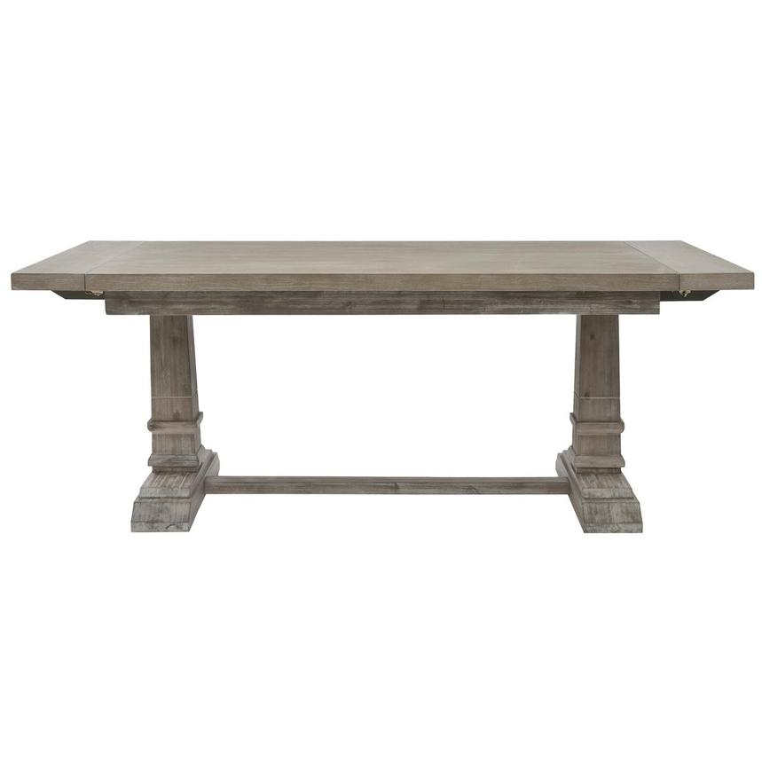 Hudson Gray Extendable Dining Table  main image, 1 of 5 images.