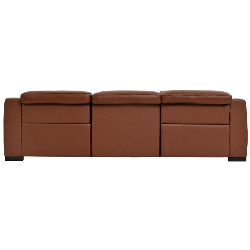 Gian Marco Tan Oversized Leather Sofa  alternate image, 5 of 8 images.