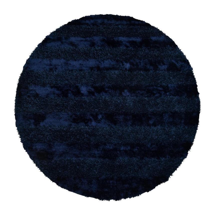 Fusion Navy 8' Round Area Rug  main image, 1 of 3 images.
