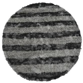Fusion Gray 8' Round Area Rug
