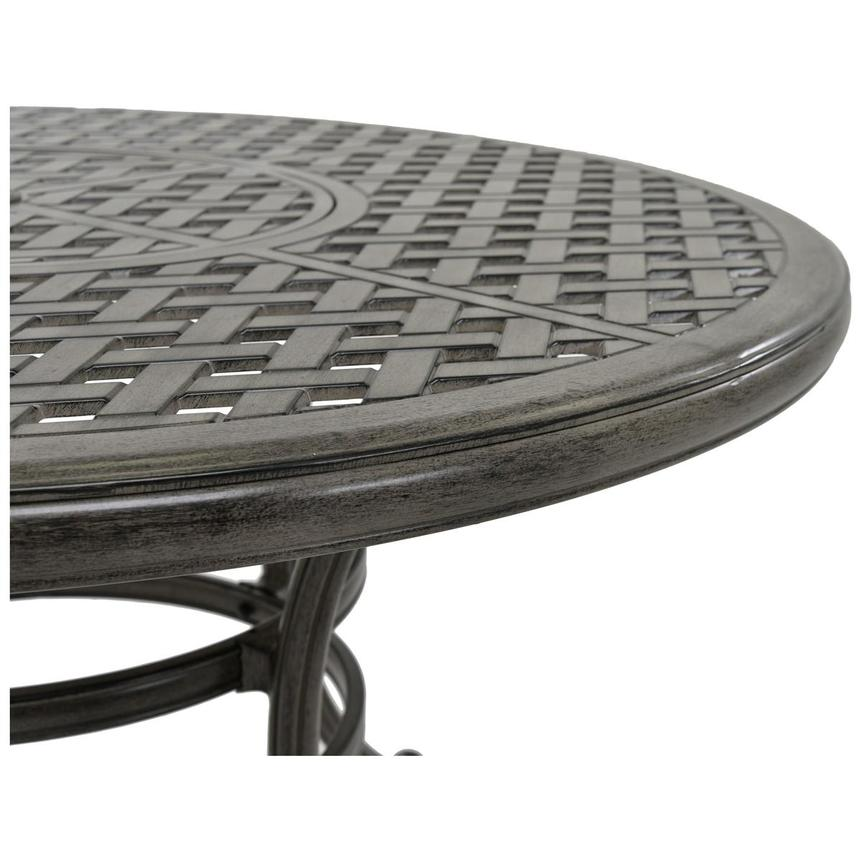 Castle Rock Gray Round Dining Table  alternate image, 2 of 4 images.