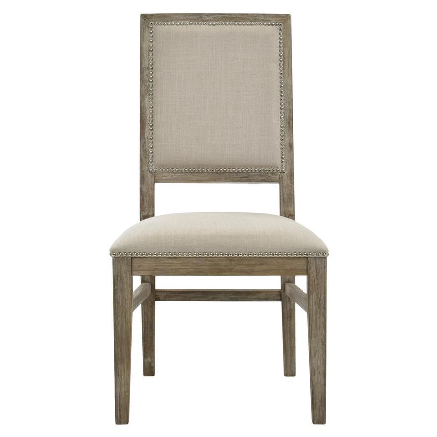 Dexter Gray Side Chair  main image, 1 of 7 images.