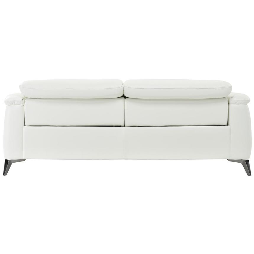 Anabel White Power Motion Leather Sofa  alternate image, 5 of 8 images.