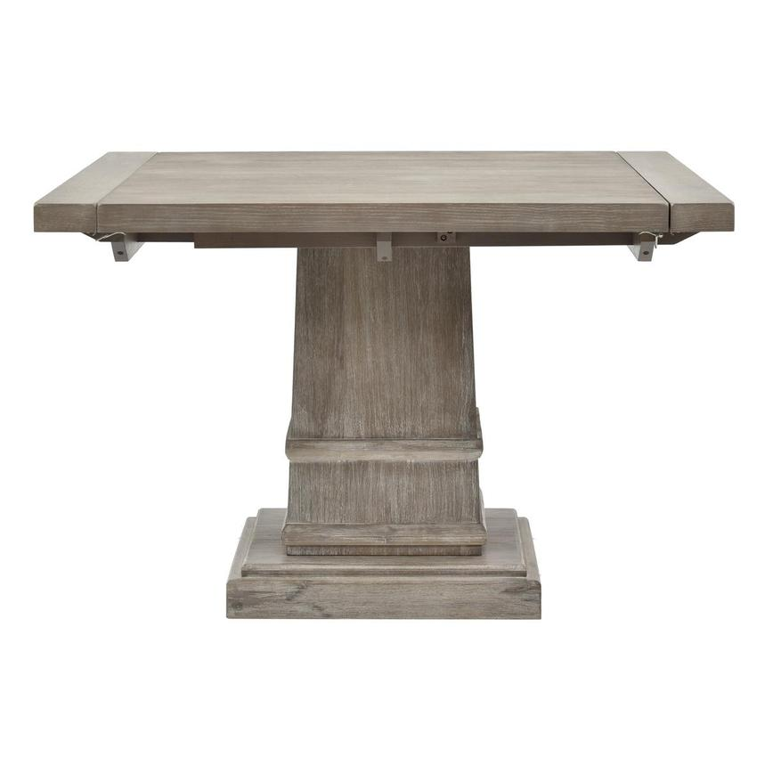 Hudson Gray Extendable Dining Table  main image, 1 of 4 images.