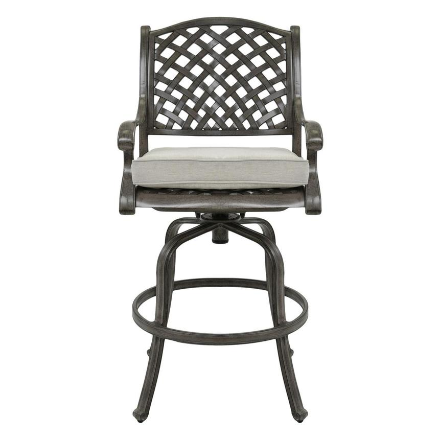 Castle Rock Gray Bar Stool  main image, 1 of 7 images.