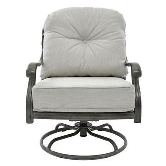 Castle Rock Gray Swivel Chair
