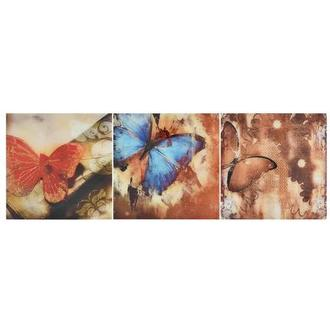 Papillon Set of 3 Acrylic Wall Art