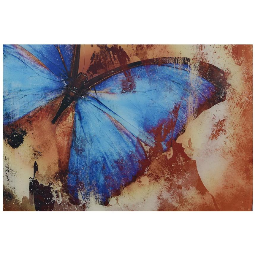 Papillon Set of 3 Acrylic Wall Art  alternate image, 5 of 5 images.