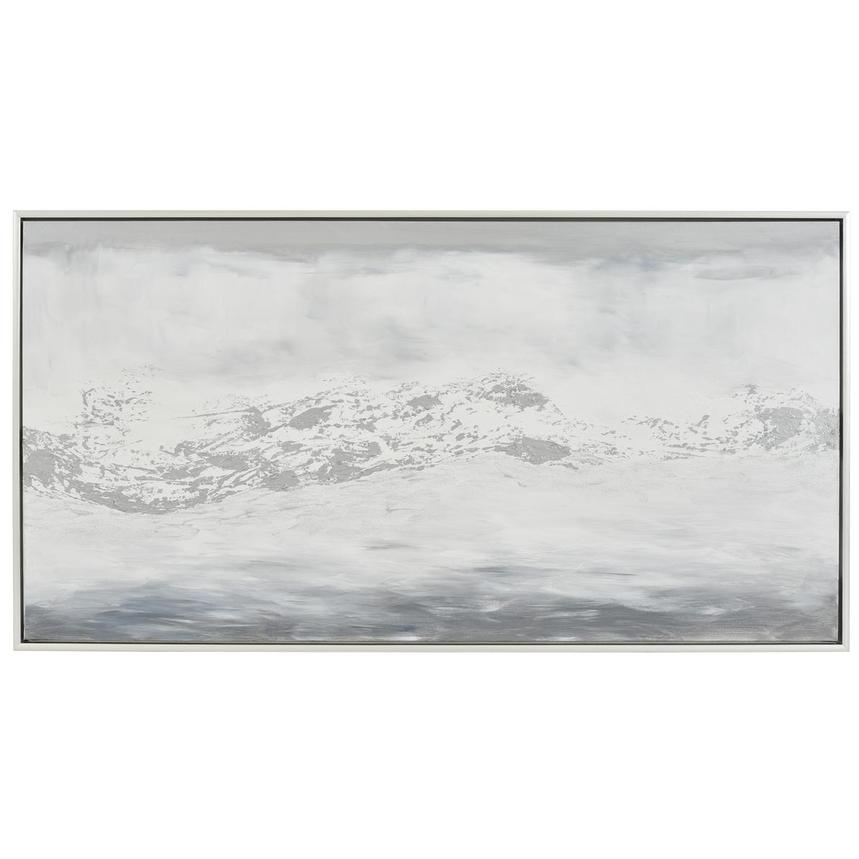 Silver Espace Canvas Wall Art  main image, 1 of 4 images.